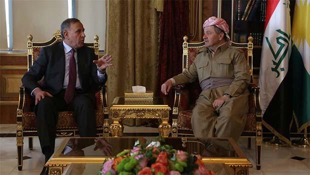 Başkan Barzani Irak Savunma Bakanı ile görüştü