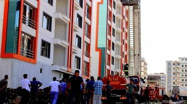 Amed'de Kur'an Kursunda Yangın: 6 Çocuk Hayatını kaybetti
