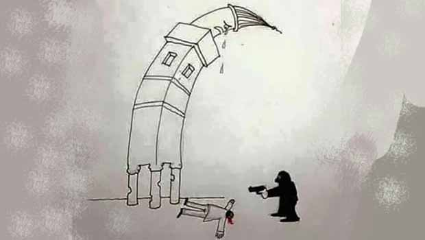 Dört Ayaklı Minare Önünde Ansızın Gelen Ölüm!