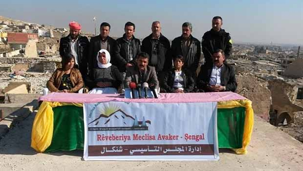Şengal'i Kurdistan'dan ayırma hamlesi!