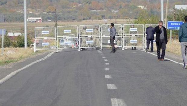 Derik'te sokağa çıkma yasağı kaldırıldı