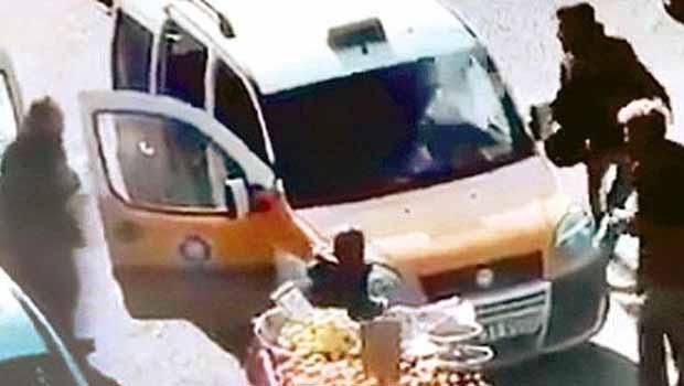 Taksi şöförü konuştu: PKK'li dediler, sivil Polis dediler...
