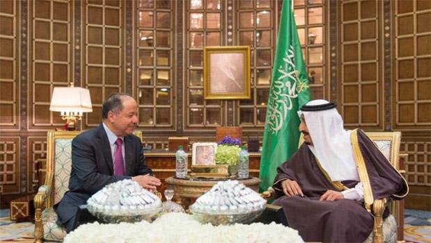 Suudi Kralından Kürdistan'ın bağımsızlığına destek