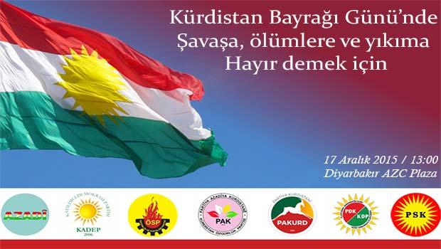 Kürdistanlı partilerden çağrı
