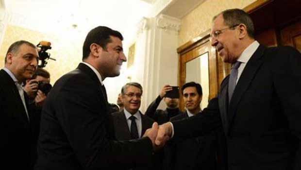 Demirtaş: Moskova'ya Kürt sorunu için gelmedik