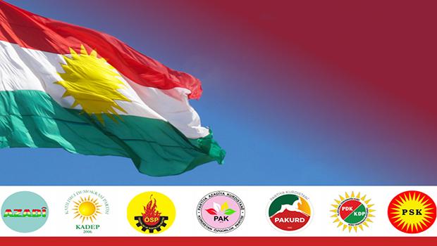 Kürdistani partiler Çatışmaların durması için harekete geçiyor