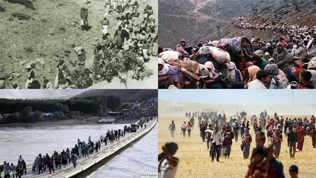Dünyada 'Mülteciler' Kürdistan'da 'Mülksüzteciler'