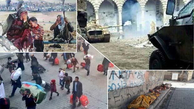 Kuzey Kürdistan'da Yaşanan Vahşet ve Kürdlerin Çaresizliği