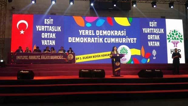 AKP ve MHP'nin davet edilmediği HDP kongresi başladı