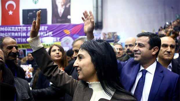 Demirtaş ve Yüksekdağ yeniden eş genel başkan seçildi