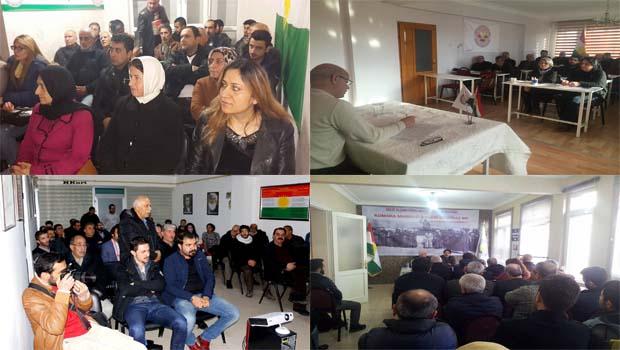 PAK, Kürdistan Cumhuriyeti'nin Kuruluş Yıldönümünü Bir Çok Yerde Andı