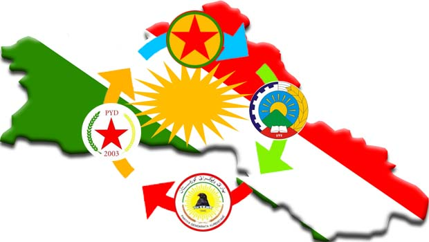 Düşmanları ile barışık, Kürtlere 'düşman' örgütler...
