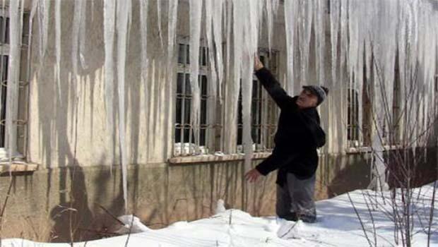 Ardahan'da sıcaklık -40 derece