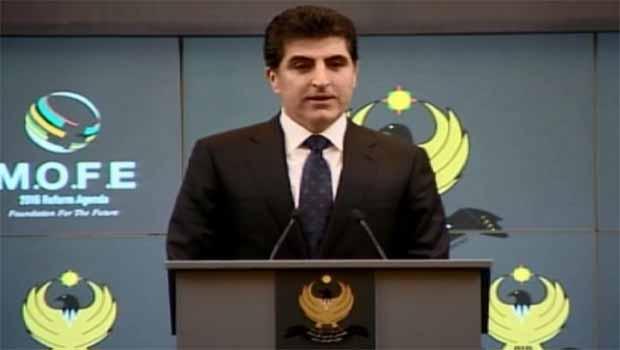 Neçirvan Barzani'den Bağımsız Devlet sözü
