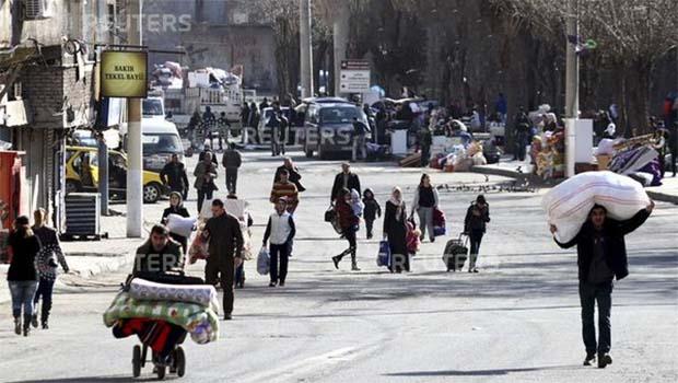 Sur'da genişletilen yasak sonrası göç