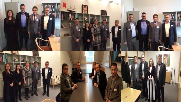 PAK Genel Başkanı Danimarka Siyasi Partileriyle Bir Araya Geldi