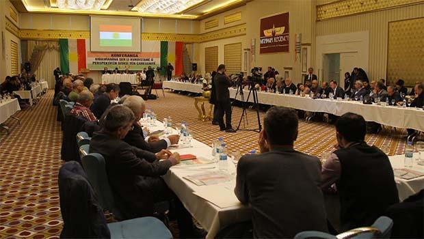 'Kürdistan'da Savaşın Sonlandırılması ve Siyasi Çözüm Perspektifi' Konferansı devam ediyor