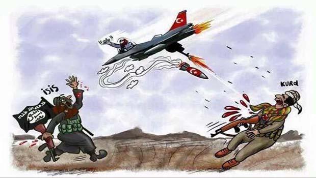 Azez ve Cerablus IŞİD'in elindedir.TC IŞİD, IŞİD TC için savaşıyor!