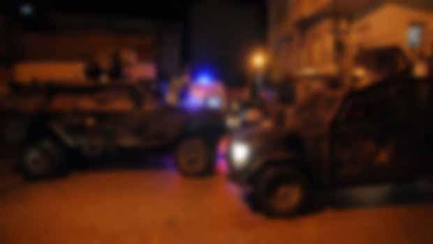 Van'da zırhlı polis aracına roketatarlı saldırı