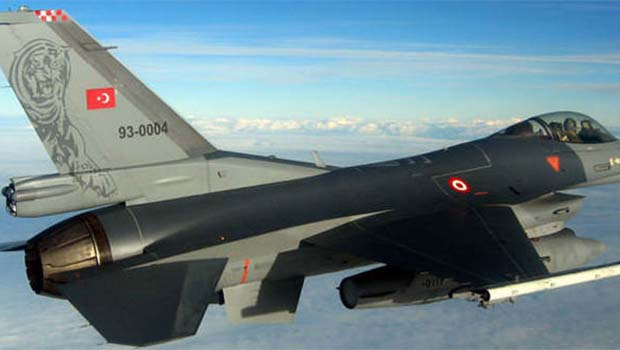 TSK'dan Haftanin'de PKK mevzilerine bombardıman