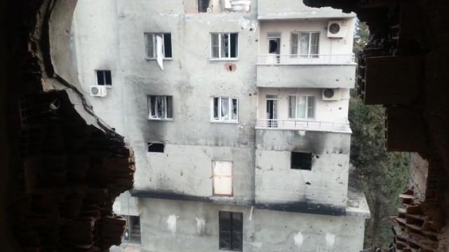 Cizre'deki ölüm bodrumları ilk kez görüntülendi