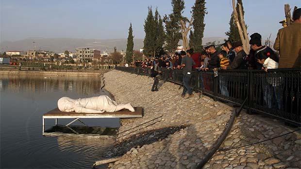 Alan Kurdi heykeliyle Süleymaniye'de yaşatılacak...