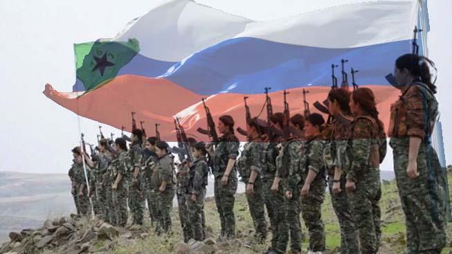 Rusya: Suriye Ordusu ve YPG'ye yardım ediyoruz