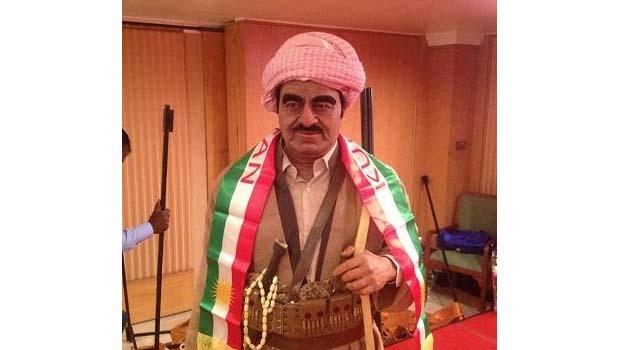 Mele Mistefa Barzani'nin heykeli, müzedeki yerini aldı