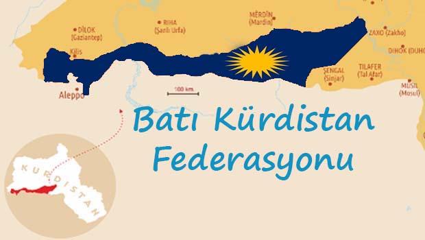 Batı Kürdistan federasyonu: Düşman ve dost aynalardan görünenler