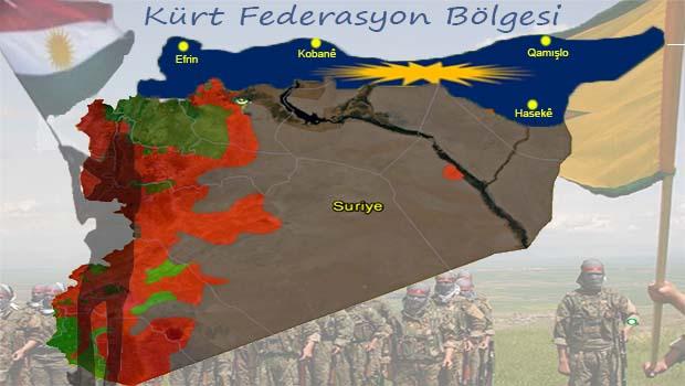 Kuzey-Suriye Federasyonu'nun hakikatı ve Aması