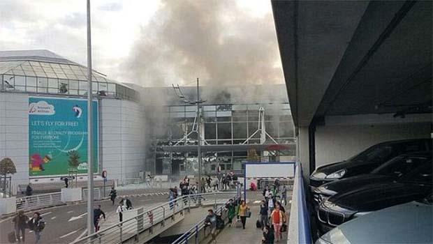 Brüksel'de 3 ayrı patlama; 34 ölü
