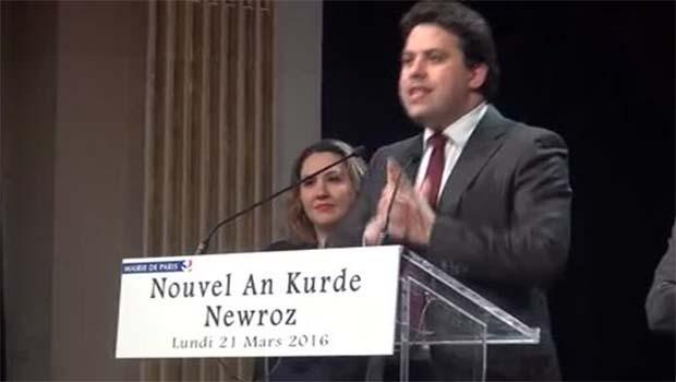 Paris Belediye Sarayı'nda Newroz etkinliği