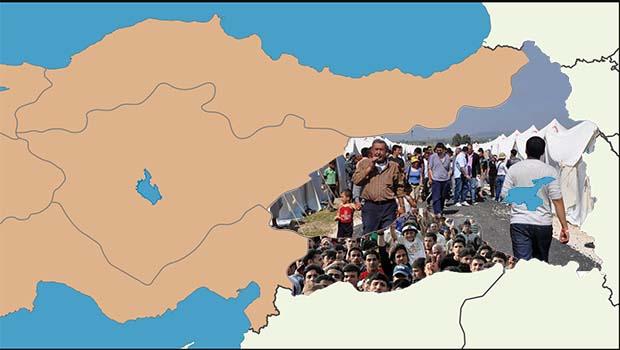 Göçmenler Kürt illerine yerleştirilecek