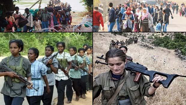 Sri Lanka-Türkiye, Tamil Kaplanları-PKK benzerlikler ve farklılıklar