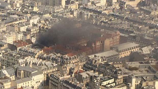 Paris'te patlama