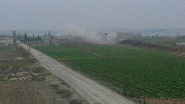 IŞİD havanlarla Kobanê'ye saldırdı