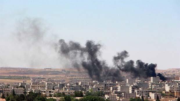 Kobani'de patlama
