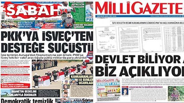 AKP medyası Gülen Cemaati'nin asılsız bilgilerini Kürt sivil kurumlarına karşı kullanıyor