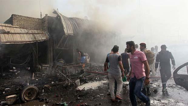 Bağdat'ta intihar saldırısı! Çok sayıda ölü var