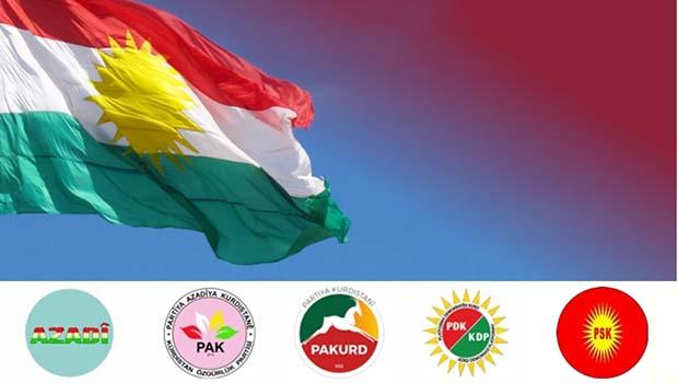 4 Parçanın Kürtleri 'Bağımsız Devlet' eyleminde buluşuyor