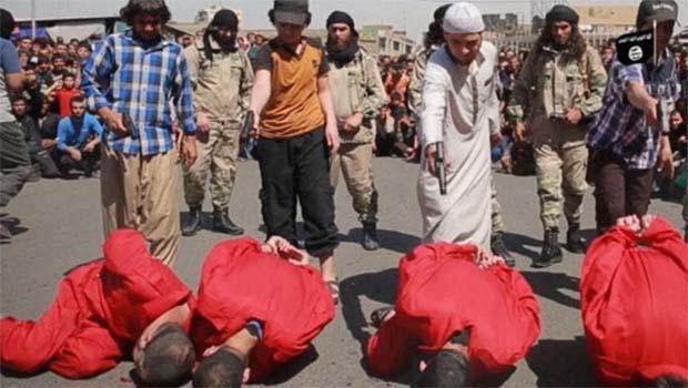 IŞİD'in infazını çocuklar yaptı