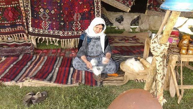 Urmiye II. Kültür Festivali'nden kareler