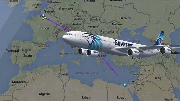 Paris - Kahire seferini yapan Egyptair uçağı kayboldu
