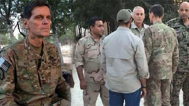 ABD komutanlarından YPG'ye eğitim [VİDEO]