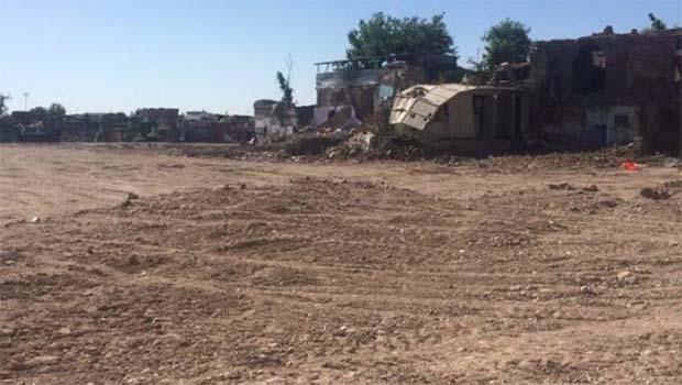 Sur'da yok olan 3 mahalleden görüntüler