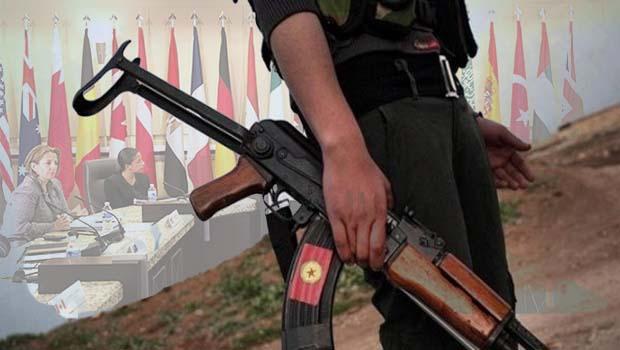 Uluslararası Koalisyonda PKK'de var