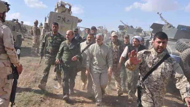 Kasım Süleymani Bağdat'ın Bilgisi Dahilinde Irak'ta