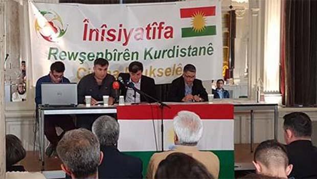 Kürdistan Aydın İnisiyatifi Brüksel'de Bağımsızlık dedi