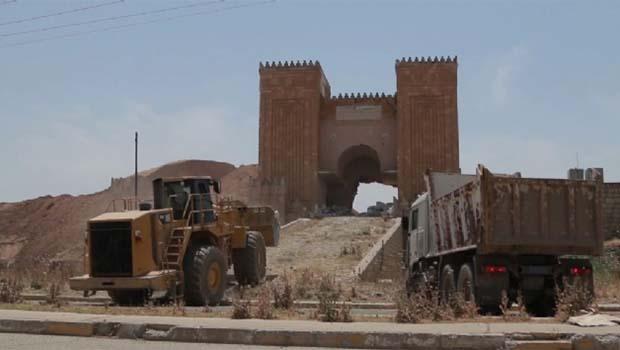 IŞİD tapınağı havaya uçurdu