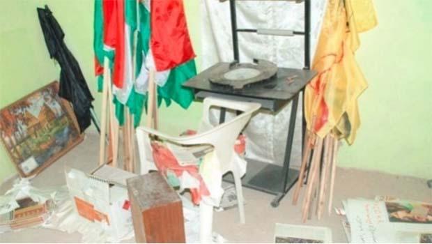PDK-S Amude Bürosu'na saldırı